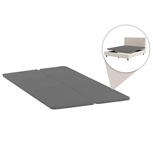 Spinal Solution BByy-4/6s Foundation/Bunkie Board, Full, Grey