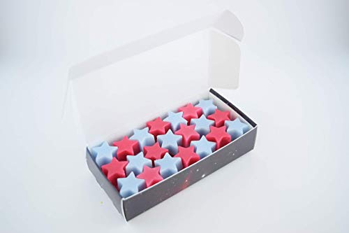 The Scent Galaxy Roses Are Red & Violets Are Blue Wax Stars - Long Lasting-Highly Scented Wax Melts - Hand Poured Naturally Strong Scents