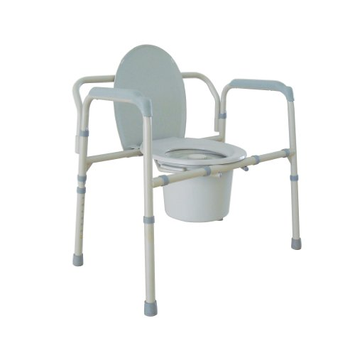 Best Duro-Med Raised Toilet Seats - Drive Medical Heavy Duty Bariatric Folding