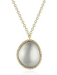 """Pebble Pendant Necklace, 16"""""""