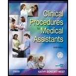 Clinical Procedures for Medical Assistants, Bonewit-West, Kathy and Burton, Brenda K., 1416032282