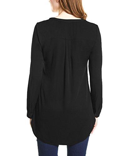 One Blouse Femme Noir Black 10001 Street wxBPfqY7Yn