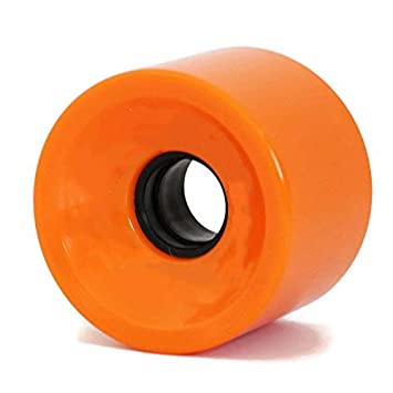 RaceBon 70mm Longboard Skateboard Wheels Hardness 78A Polyurethane Cruising Wheel Free ABEC-9 Bearings and Spacers Set of 4
