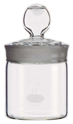 Kimax, Cylindrical Weighing Bottle, High-Form 15 x 50mm, 7mL (Case of 24)