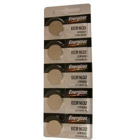(20 Energizer CR1632 3 Volt Lithium Coin)