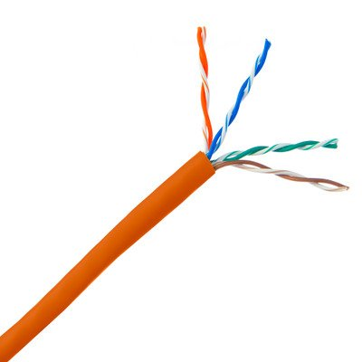 Pullbox 1000ft Bulk Cat5e Orange Ethernet Cable ( 30 PACK ) BY NETCNA by NETCNA (Image #2)