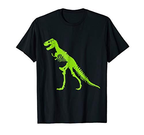 T-REX SKELETON T-SHIRT Tyrannosaurus Rex Dinosaur Tee Shirt -