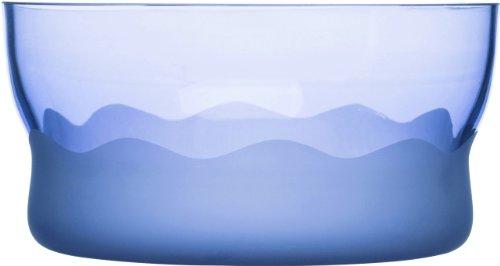 SEAglasbruk Aqua Wave Serving Bowl, Blue -