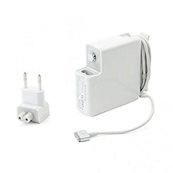 BENTECH, Cargador Compatible con Macbook Air Retina Equivalente Cargador Adaptador MagSafe 2 de 45W con Conector Tipo T