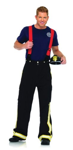 Fire Captain Adult Costume - Medium/Large ()