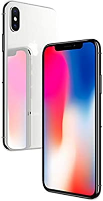 Apple iPhone X with FaceTime - 64GB, 4G LTE, Silver: Amazon com: Dinok