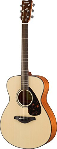 Top Solid Body Electric Guitar - Yamaha FS800 Small Body Solid Top Acoustic Guitar, Natural
