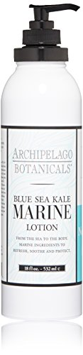 Milk Body Cream (Archipelago Lotion, Marine, 18 oz.)