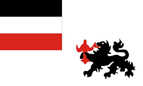 magFlags Large Flag German New Guinea | German New Guinea Company 1885-1899 | Deutschen Neuguinea-Kompagnie 1885-1899 | Landscape Flag | 1.35m² | 14.5sqft | 90x150cm | 3x5ft - 100% Made in G ()