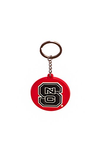 Collegiate Pulse North Carolina State Wolfpack NCAA PVC Keychain ()