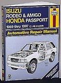 Haynes Publications, Inc. 47017 Repair Manual Isuzu Rodeo Manual