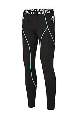 Stealth Wear Long Black Compression Under Leggings Base Layer Pants
