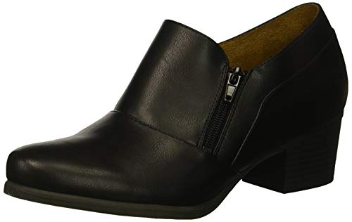 SOUL Naturalizer Women's Charleen Ankle Boot, Black, 8 M US