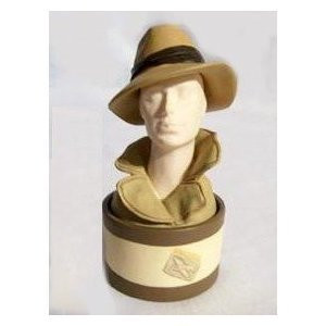 Just the Right Shoe / Style - Fedora Hat Bust Box (Just The Right Shoe Christmas)