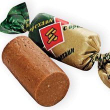 New Candy Batonchik with Nuts By Rot Front