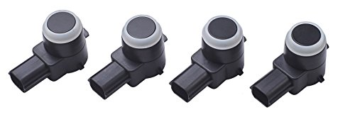 Parking Assist Sensor (Pack of 4 Rear Reverse Backup Parking Assist Sensors for Chevrolet GMC 25961317)
