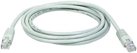 - Gray Tripp Lite Cat5e 350MHz Molded Patch Cable 6-ft. RJ45 M//M
