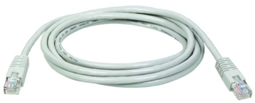 - Tripp Lite Cat5e 350MHz Molded Patch Cable (RJ45 M/M) - Gray, 100-ft.(N002-100-GY)