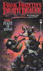 Plague of Knives (Frank Frazetta's Death Dealer, Book 4)