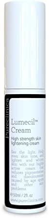 Lumecil Skin Lightening Cream 50ml - From brown to white with the most effective and No.1 rated skin whitening solution. Achieve many shades lighter/whiter. SKU: LSR