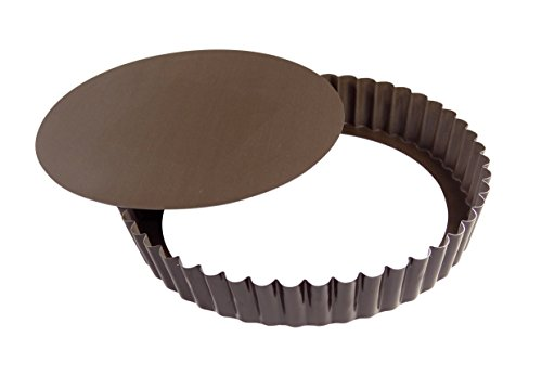 Gobel 240 mm Non-Stick Deep Round Non-Stick Tart Mould Loose Base