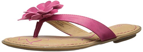 Price comparison product image BOC Kids Ciara FUCH Thong Sandal (Toddler/Little Kid/Big Kid), Fuchsia, 11 M US Little Kid