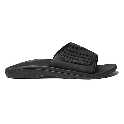 Mens Black Kekoa Slide OluKai Black CHwqdHI