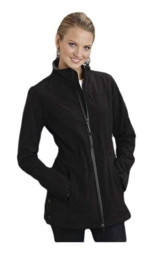 Black With Pewter Fleece Barn Jacket Roper Outerwear (xs) 03-098-0780-2580BL