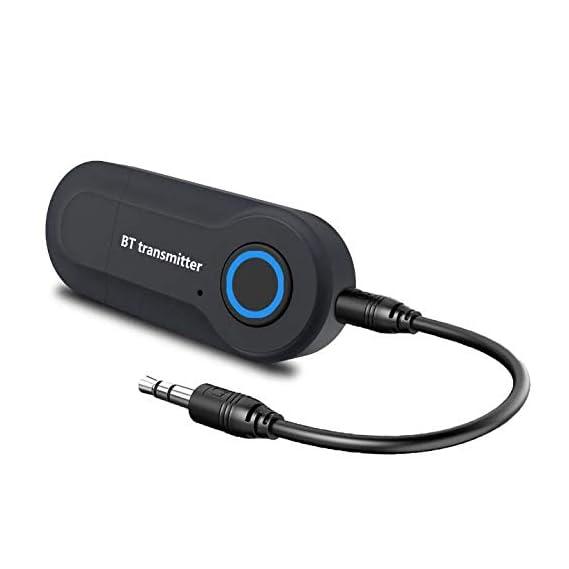 Rocketkart Nano USB Bluetooth 5.0 Adapter for PC Laptop Desktop Computer, Long Range Bluetooth Dongle/Receiver for