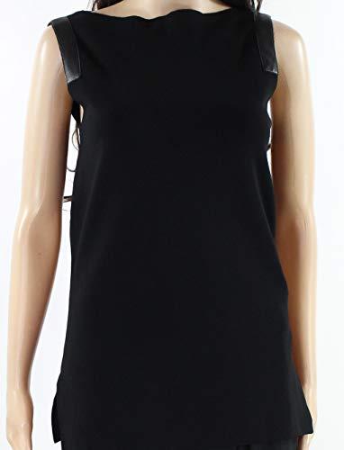 Lauren by Ralph Lauren Deep Womens Medium Knit Top Black M
