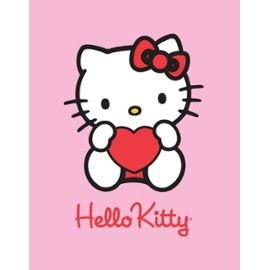 Plaid Polaire Hello Kitty