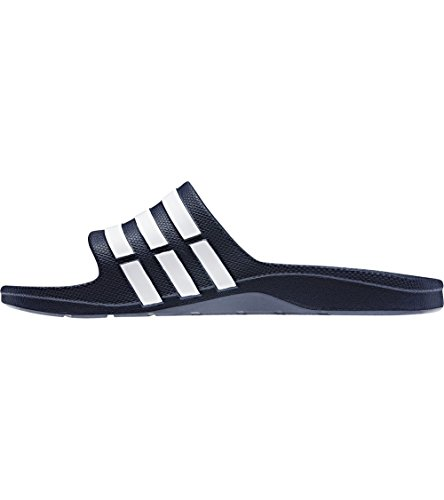 Blanc Bleu vrai Bleu Tongs Duramo Unisexe Vrai Slide Adidas Y4Sq1