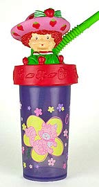 Strawberry Shortcake Tumbler Sipping Cup with Straw