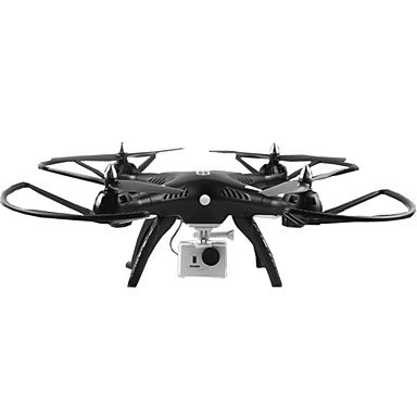 W&P Drone HQ-899 4CH eje 6 QuadcopterFPV RC de 2.4G / iluminación LED / una clave al modo Auto-retorno / sin cabeza / 360 ° balanceo / acceso , with 5mp camera