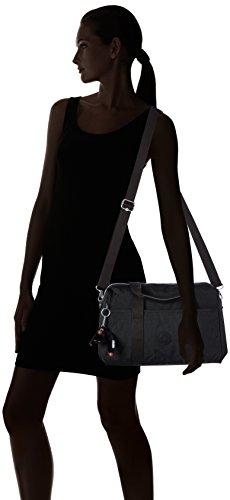 COOL Negro sintético de material hombro Black Kipling PRACTI Bolso de mujer Tpt5z