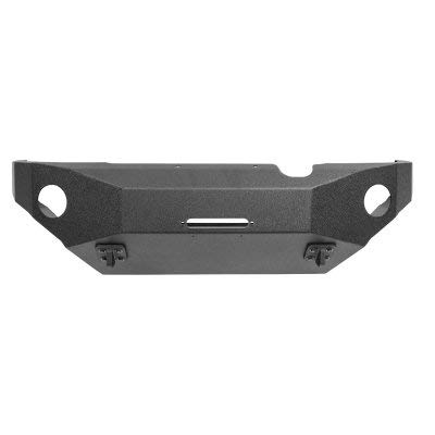Body Armor 4x4 (TC-19336) Black Steel Front Winch Bumper for Toyota Tacoma