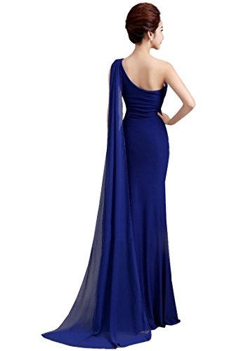 Partykleid Side Beauty Bodycon Watteau Schwarz Zug One Emily Open Shoulder t8trnwSvq