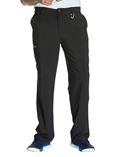 Cherokee Infinity CK200A Men's Fly Front Cargo Pant Black M ()
