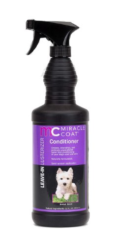 Miracle Coat Leave-In Lusterizer and Conditioner for Dogs 32 oz., My Pet Supplies