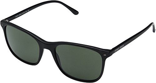 Giorgio Armani  Men's 0AR8089 Matte Black/Crystal Green (Matte Black Crystal Green)