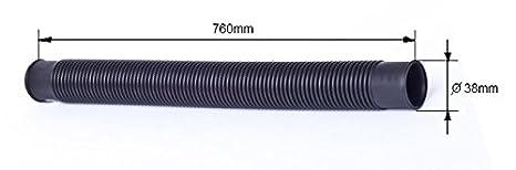 38mm POWERHAUS24/® f/ür Filteranlagen PH24/_12122 Druckschlauch mit angeformten Muffen Pumpe zum Kessel