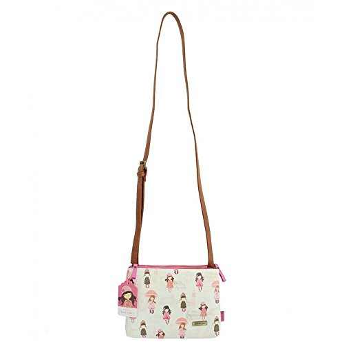 Gorjuss Traveller Shoulder Bag - London