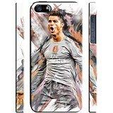 Cristiano Ronaldo for Iphone 5 5s SE Hard Case Cover (ron1)