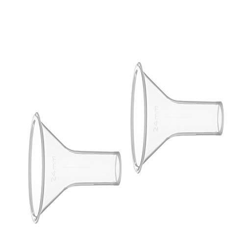 Funil PersonalFit M (24 mm) com 2 Unidades, Medela, Incolor
