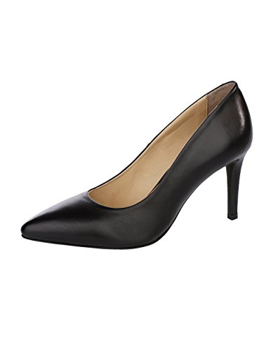 Damen Loop Liva Silhouette Schwarz Spitzer in eleganter Pumps by vUaq5wPOx